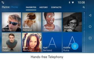 Parrot_RNB6_Hands_free_telephony