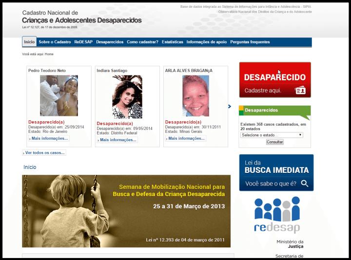 screen shot 01 13 15 at 05 46 pm 720x534 - Facebook irá alertar sobre crianças desaparecidas