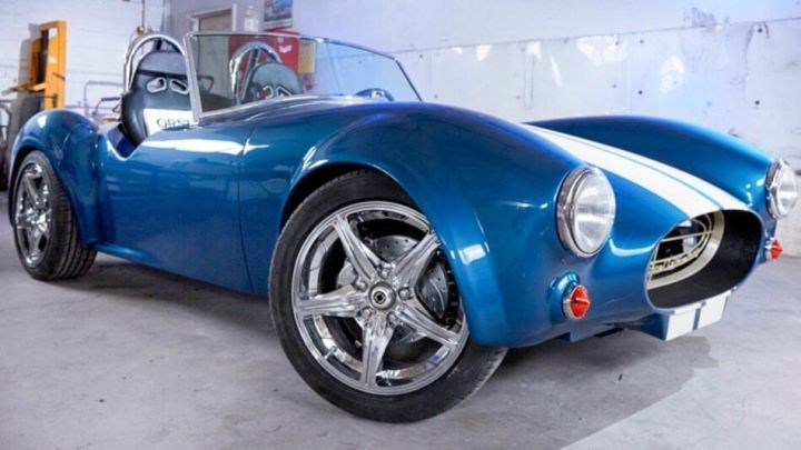 shelbycobra3d 720x405 - Shelby Cobra ganha versão comemorativa feita com impressora 3D