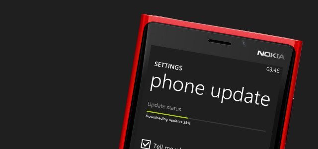 windows phone update - Fatos e Mitos da bateria em smartphones Android, iPhones e Windows Phones