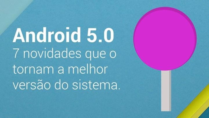 post lollipop arte 720x405 - Android 5.0 Lollipop: 7 novidades que o tornam a melhor versão do sistema