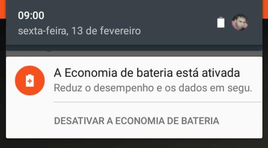 Economia de Bateria - SMT