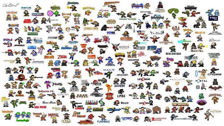 all charecters nintendo 1440 720x405 - Em breve na sua telinha! Nintendo irá produzir games para dispositivos móveis
