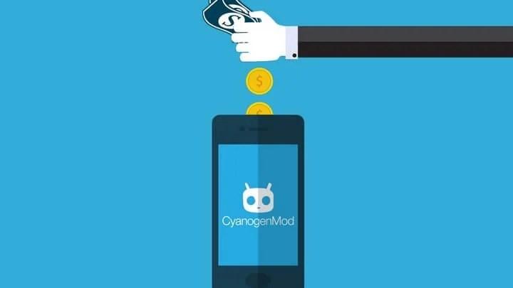 cyanogenmoney 720p 720x405 - Com 110 milhões de dólares em investimentos, Cyanogen se desenvolverá sem a Microsoft
