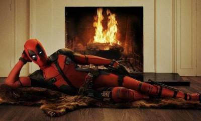 """deadpool primeira foto - Ryan Reynolds apresenta oficialmente o visual do """"Deadpool"""""""