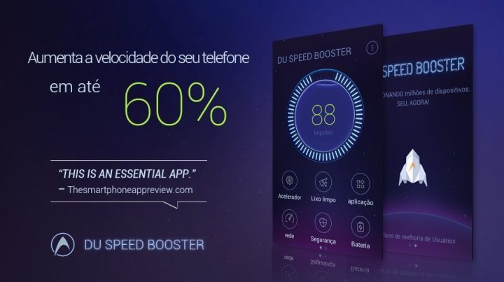 du speed booster 720x403 - DU Speed Booster promete deixar seu Android até 60% mais rápido