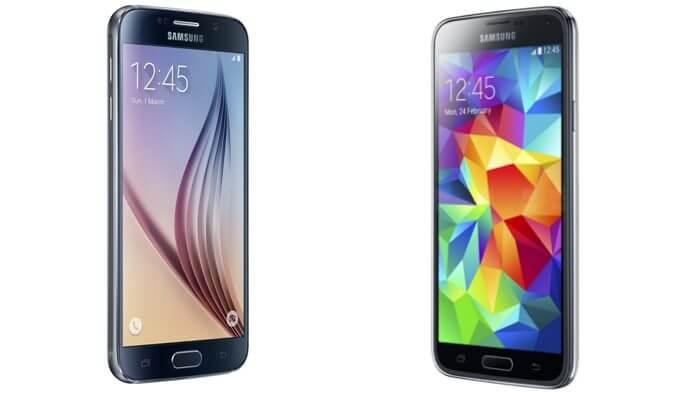 gs 6 vs gs 5 - Infográfico da Samsung compara Galaxy S6 com o Galaxy S5