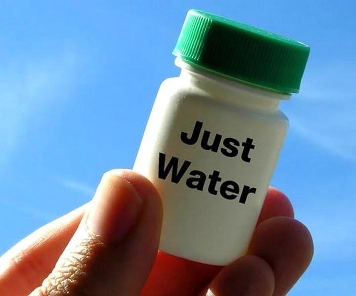 homeopathy debunked because its just water 720x600 - É só água? Novo estudo aponta para a ineficácia da Homeopatia