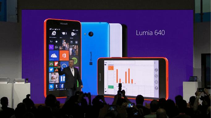 lumia 640 - MWC15: Microsot lança Lumia 640 e irmão maior Lumia 640 XL