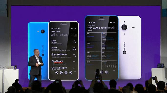 lumias - Veja o que já rolou no Mobile World Congress 2015
