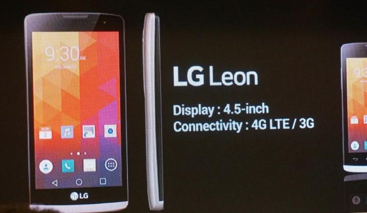 Novo LG Leon