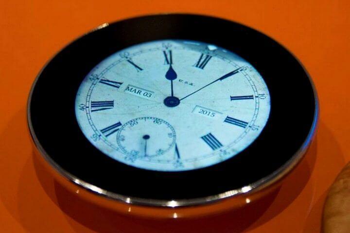 runcible 02 720x480 - Máquina do Tempo: Runcible, um smartwatch com jeito retro