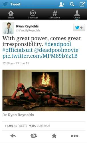 "share from pixlr 611x1000 - Ryan Reynolds apresenta oficialmente o visual do ""Deadpool"""