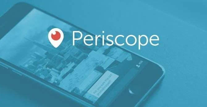 twitter app periscope transmissao video - Twitter lança o aplicativo Periscope para transmissão de vídeos ao vivo