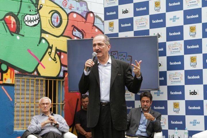 aldo rebelo facebook heliopolis 720x480 - Governo brasileiro anuncia parceria com Facebook
