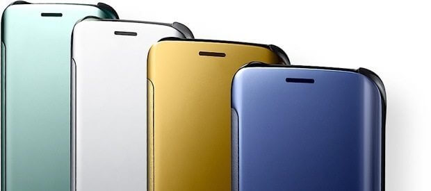Capa Clear Cover, acessório dos movos modelos S6 e S6 Edge