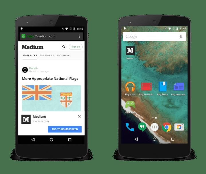 medium sidebysde 720x609 - Seus sites favoritos agora podem enviar notificações para o Google Chrome no Android