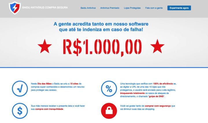 recurso inedito permite que vitima de golpe online peca indenizacao ao baidu antivirus 2 720x427 - Vítimas de golpes virtuais vão ser indenizadas pelo Baidu Antivírus
