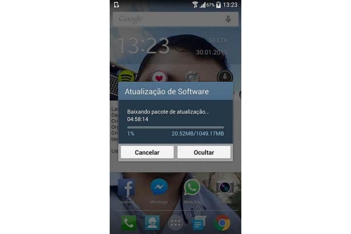 s4 update brasilsmt 720x480 - Doce vida! Galaxy S4 começa a receber atualização para o Lollipop