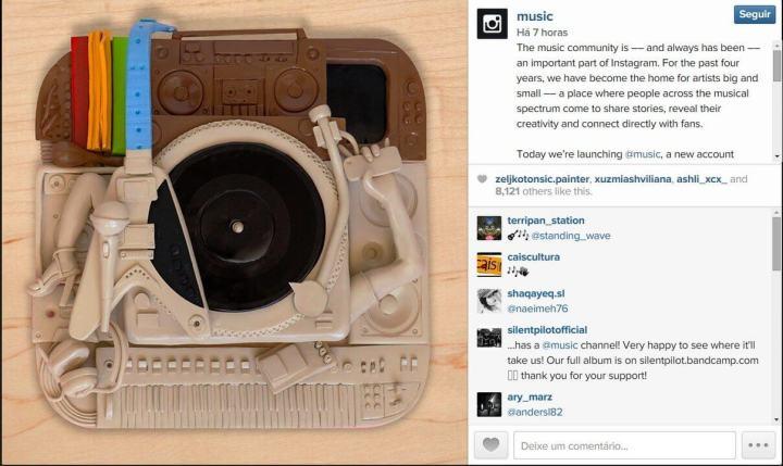 smt instamusic post02 720x429 - O Som ao Redor: Instagram lança a conta music para agregar sua vocação musical