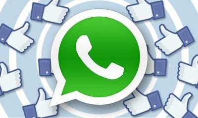 Nova atualização do app do Facebook adicionará compartilhamento por WhatsApp