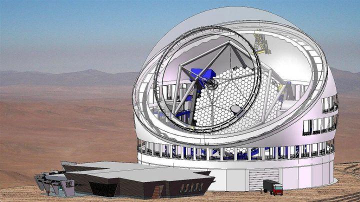 enclosure with all vents open 720x404 - Disputa com nativos suspende construção do maior telescópio do mundo