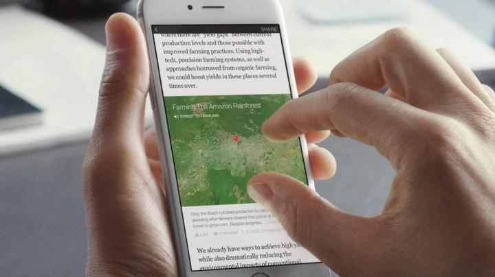facebook instant articles 3 720x404 - Facebook começa a exibir matérias diretamente no feed de notícias