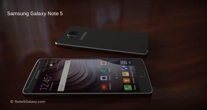 galaxy note 5 6 720x382 - Samsung planeja anunciar o Galaxy Note 5 no final de julho