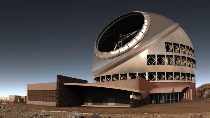 side view of tmt complex 720x404 - Disputa com nativos suspende construção do maior telescópio do mundo