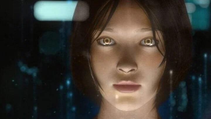 """Cortana, na série de jogos """"Halo"""""""
