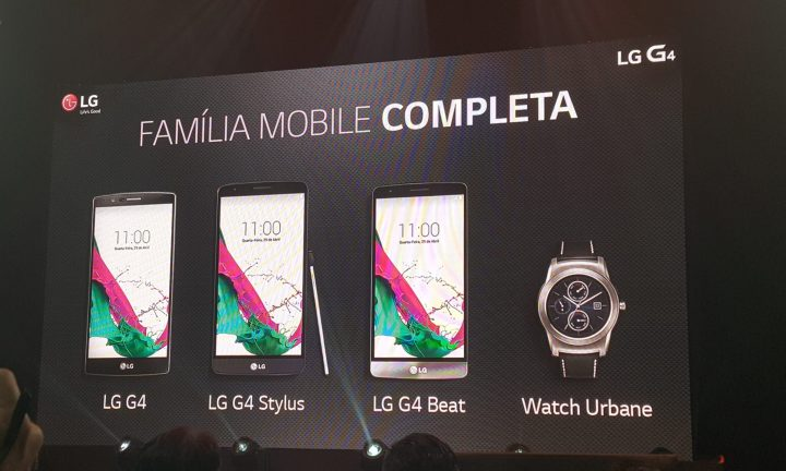 smt lgg4 family 720x432 - LG G4 chega ao Brasil com classe, preço e novos integrantes pra família