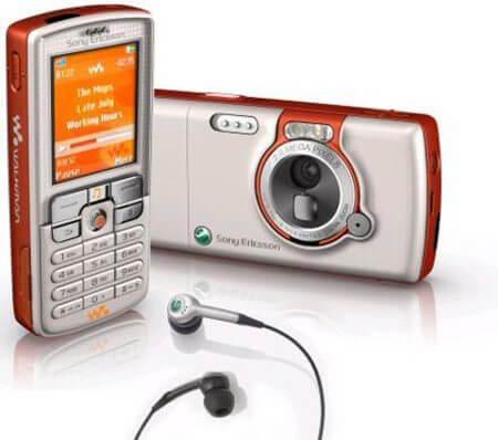 sony ericsson w800i - Brasil: uma história contada por celulares