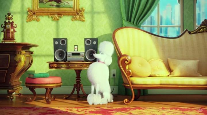 Leonard, o poodle roqueiro
