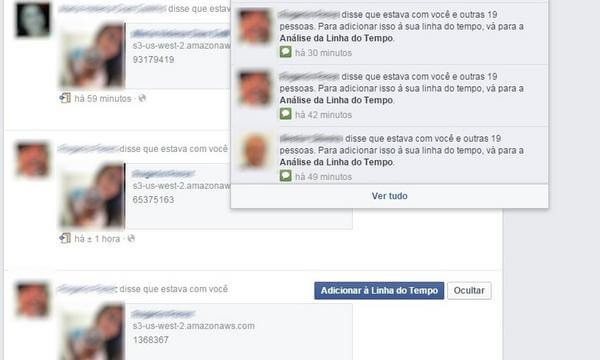 virus no facebook