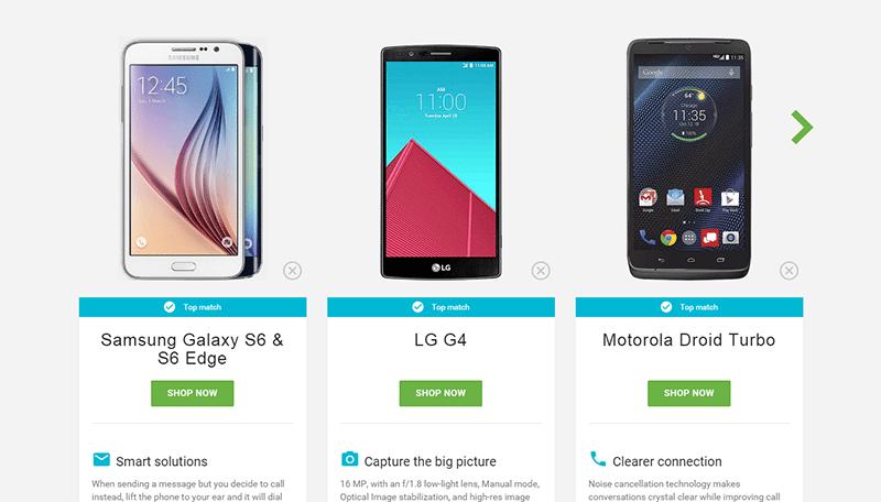 escolher seu android 1 - Google lança site para ajudar a escolher seu smartphone Android