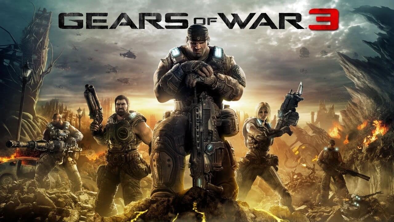 gears of war 3 arte - Veja o que já rolou na E3 2015 e as novidades que esperamos ver