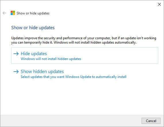 01 show hide updates - Aprenda como esconder ou bloquear atualizações indesejadas no Windows 10