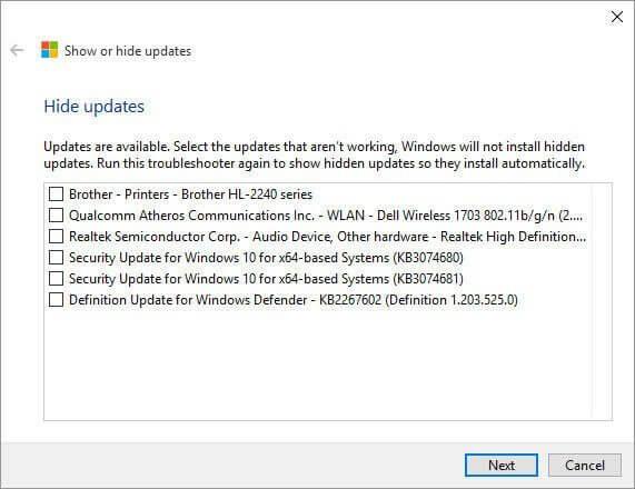 02 show hide updates - Aprenda como esconder ou bloquear atualizações indesejadas no Windows 10