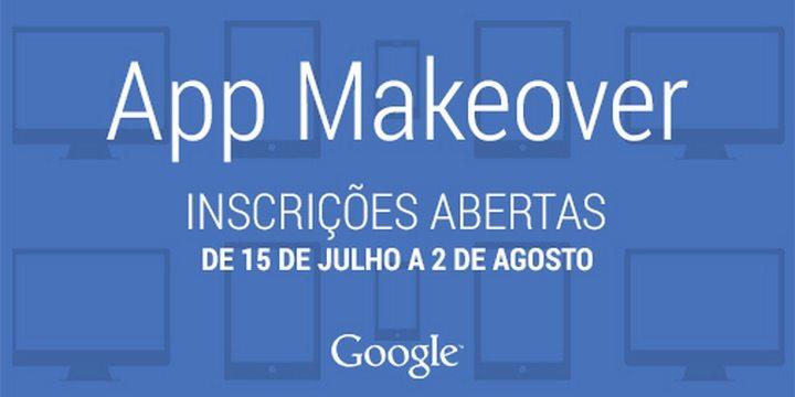 app makeover twitter 720x360 - Google lança App Makeover, concurso gratuito para ajudar desenvolvedores brasileiros