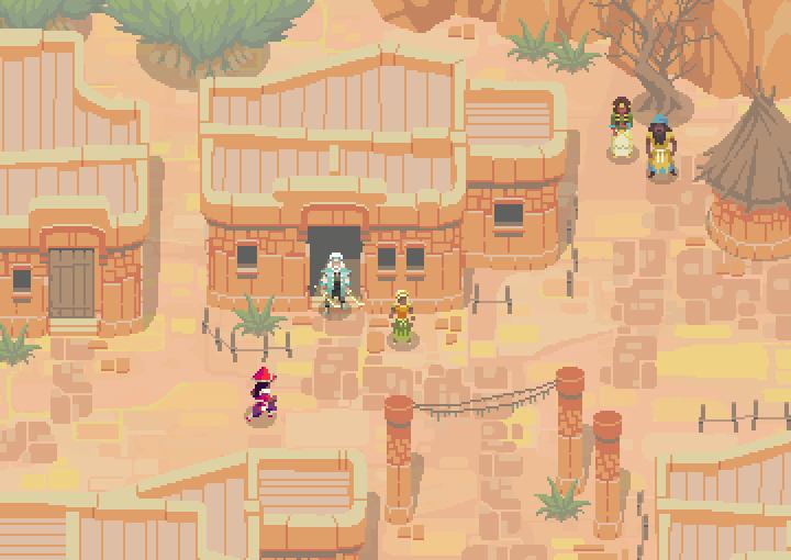 desertvillagepreview 720x510 - Confira os 9 melhores jogos indie apresentados na E3 2015