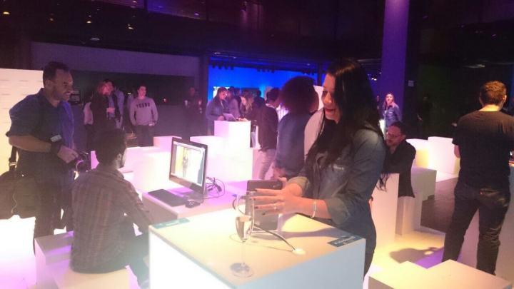 Festa de lançamento do Windows 10 em São Paulo