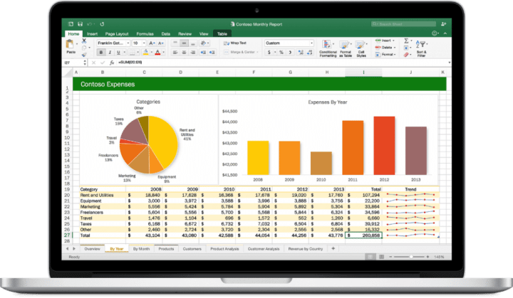 Office-2016-for-Mac-Excel
