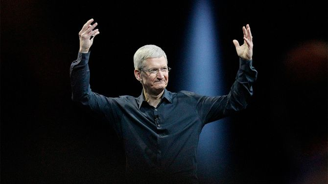 apple original content production tim cook - Tim Cook e Bill Gates foram considerados para o posto de vice-presidente na chapa de Hillary Clinton