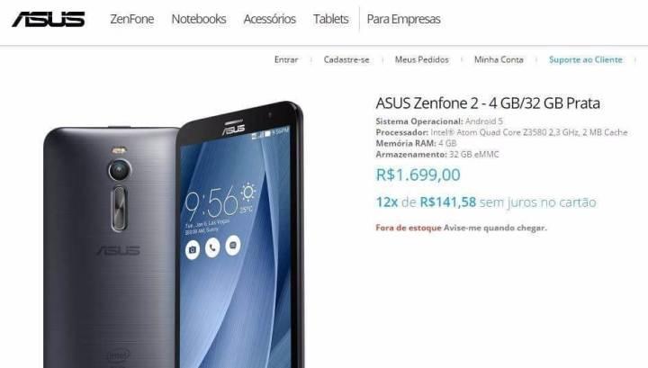 asus zenfone 2 preo 720x409 - Zenfone 2 tem preço vazado pela própria ASUS; empresa comenta o assunto