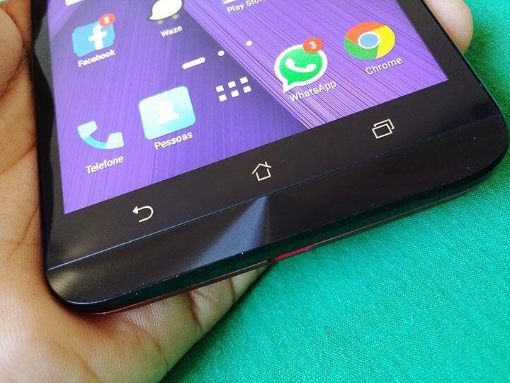 botoes zenfone 2 720x540 - Hands-on: Testamos o Zenfone 2, novo top da ASUS