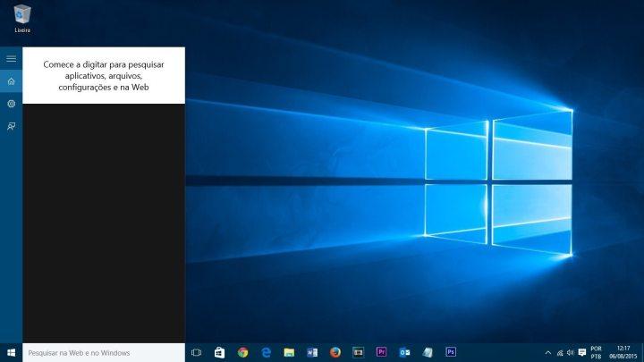 caixa de presquisa windows 10 smt julian 720x405 - Tutorial: Como ocultar a barra de pesquisa e desativar resultados online no Windows 10