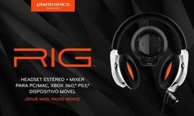 capa headset rig - Review: headset gamer RIG da Plantronics