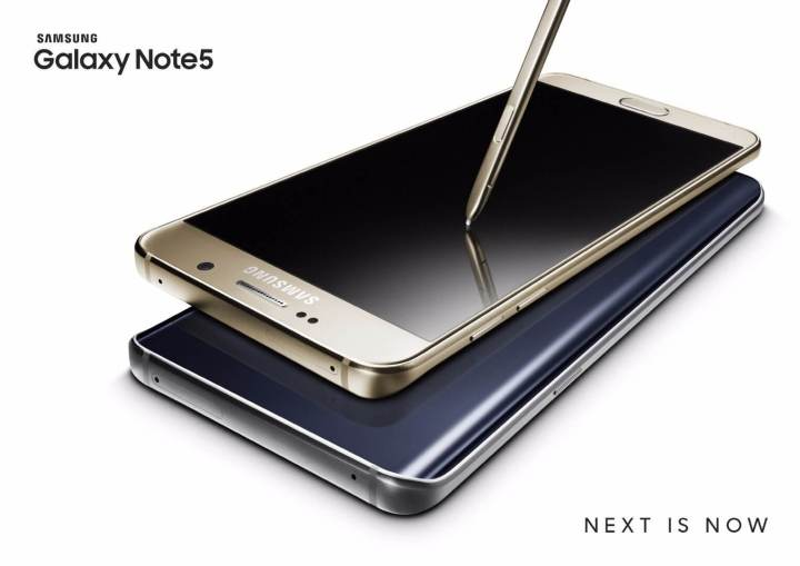galaxy note5 gold black 2p 720x509 - Conheça o Galaxy Note5