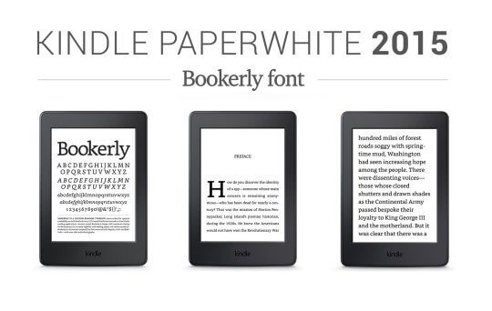 kindle paperwhite 2015 bookerly font on the device 540x342 - Review: Kindle Paperwhite 2015