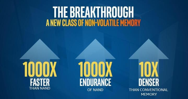 smt 3d xpoint p3 720x378 - Intel e Micron anunciam memórias 3D XPoint, mil vezes mais rápidas que SSDs atuais